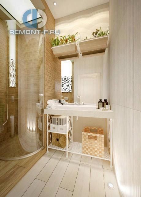 Проект ванной комнаты в стиле прованс