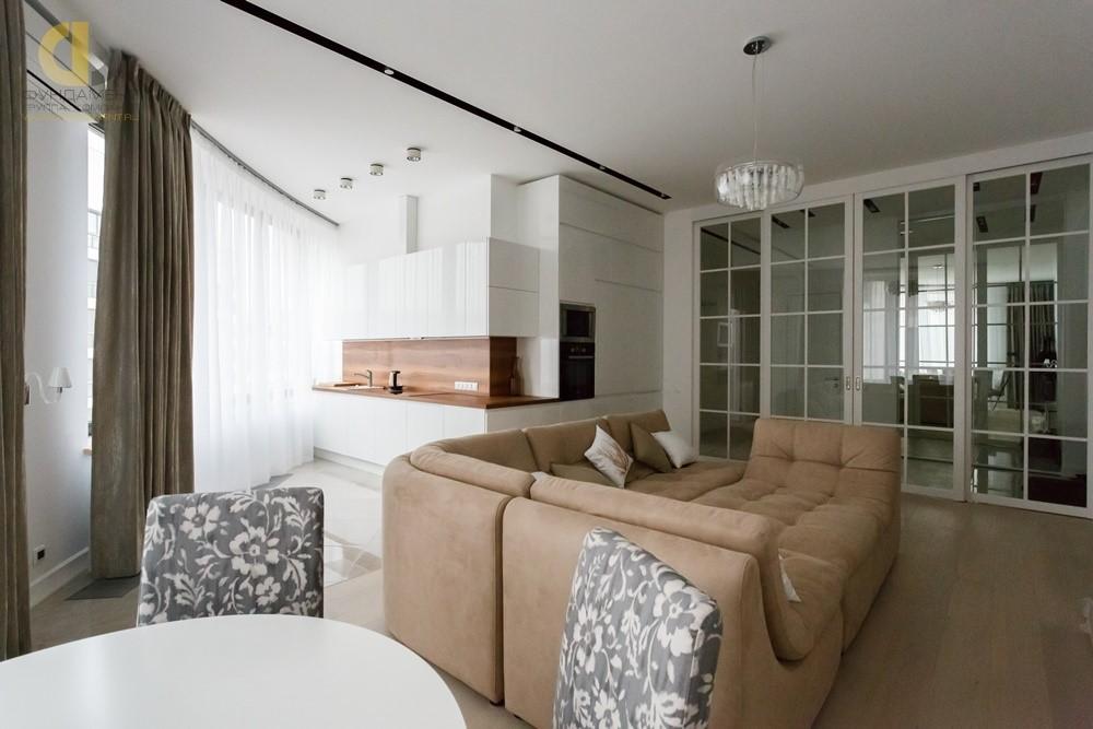 Ремонт гостиной в квартире в ЖК «Грюнвальд». С чего начать