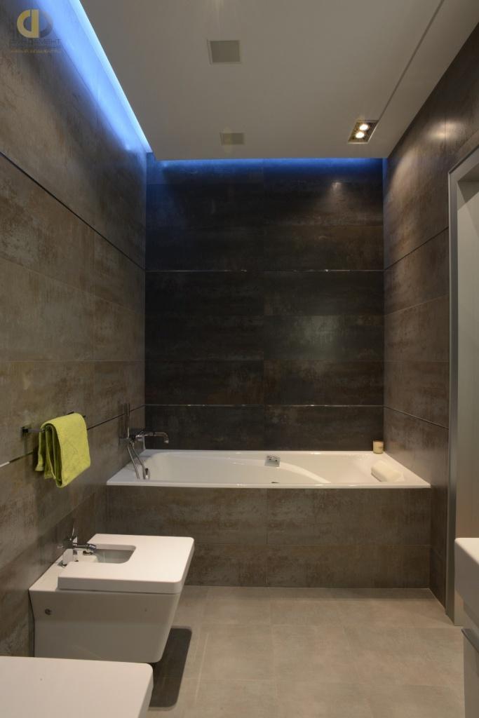 Ванная комната после ремонта в новой квартире