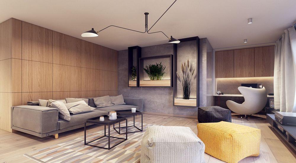 Современный стиль в интерьере квартиры и дома, особенности дизайна и фото