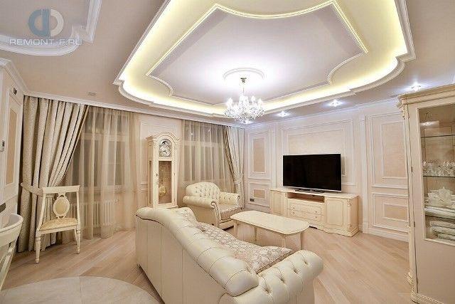 Потолки из гипсокартона (80 фото) Дизайн потолков для