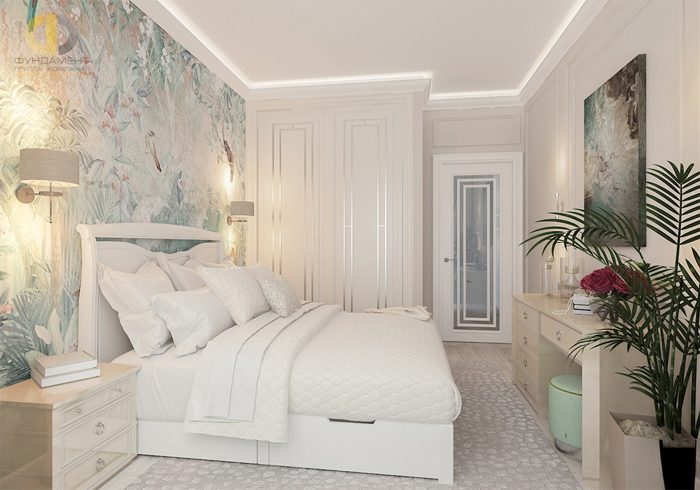Шкаф в спальню: самые красивые варианты меблировки интерьера