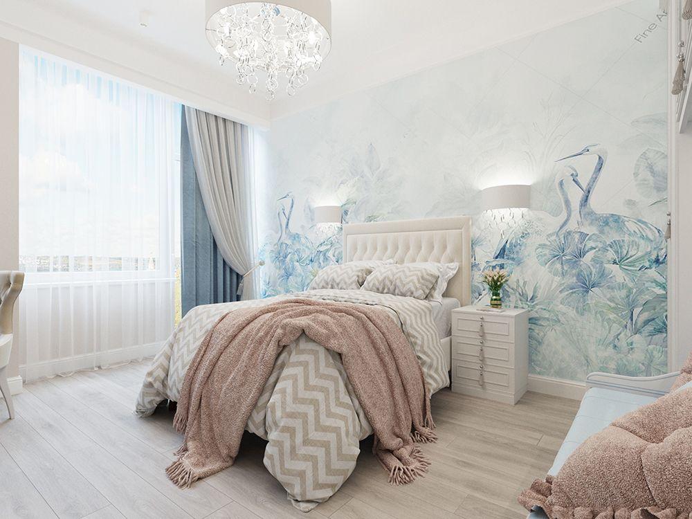 Спальня в стиле неоклассика: 40 лучших фото 2021 года