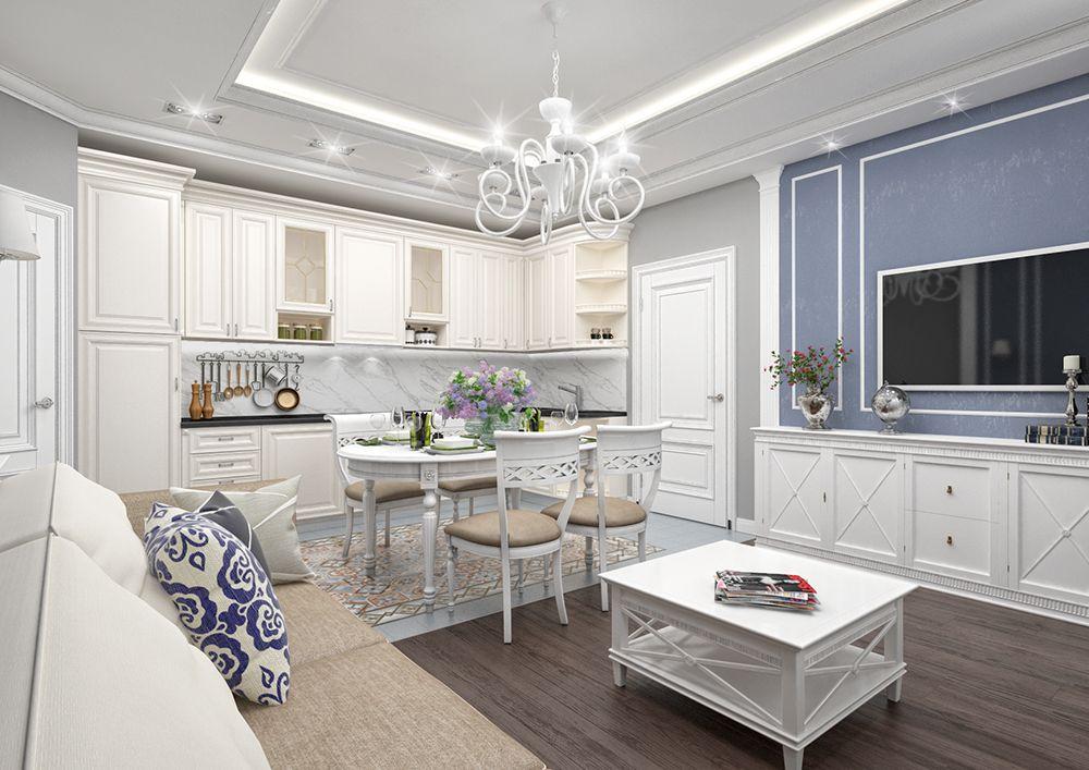 пронском белая кухня в стиле неоклассика фото применяются дешёвых моделях
