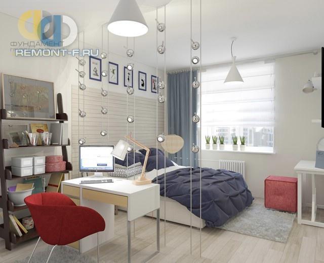 дизайн спальни для мальчика подростка 25 фото