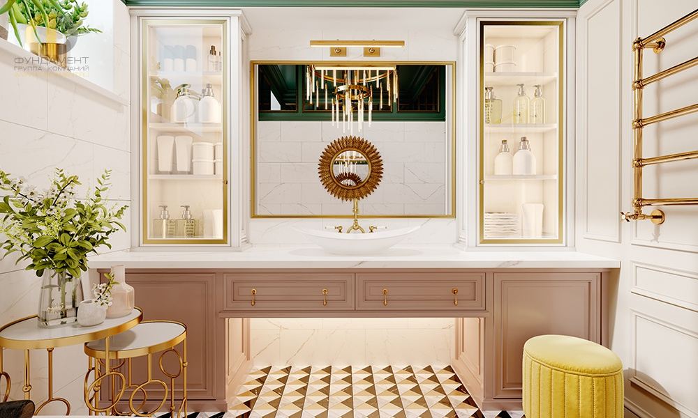 Тумба с раковиной для ванной комнаты: 42 самых стильных варианта столешниц и фасадов