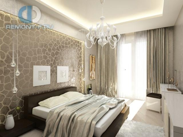 спальня дизайн фото 12 кв м с балконом