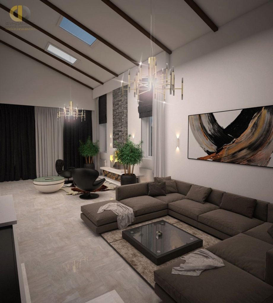 Современный ремонт в частном доме фото