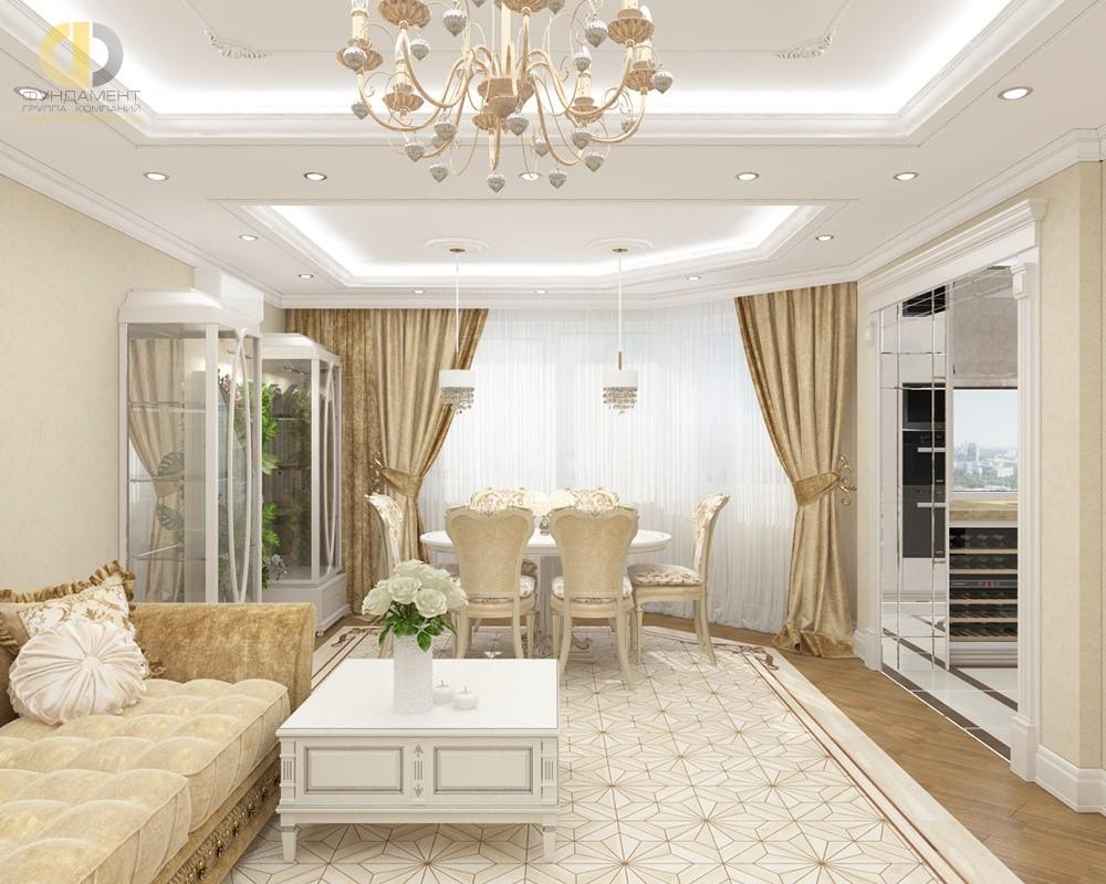 Дизайн проекты квартир готовые классика фото