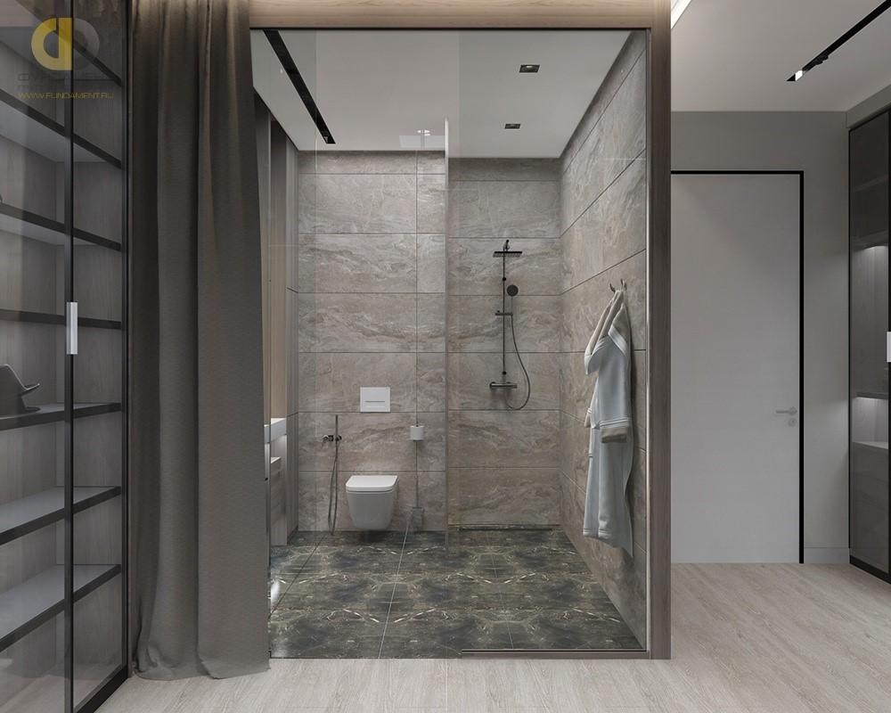 Ванная комната открытой планировки