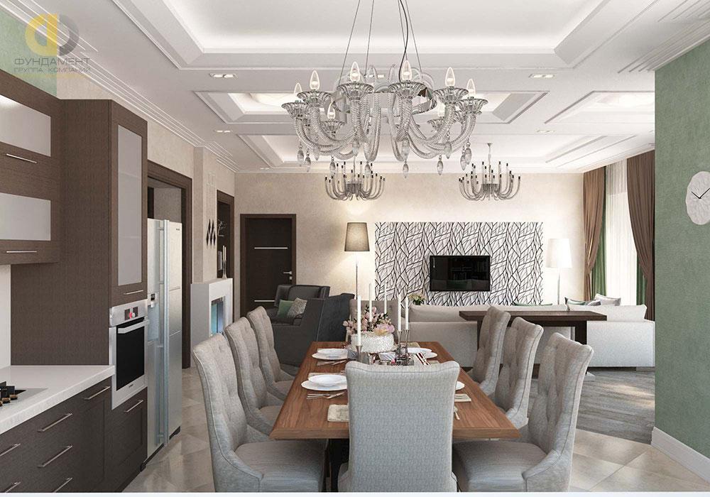 дизайн кухни гостиной фото интерьеров 2018 года