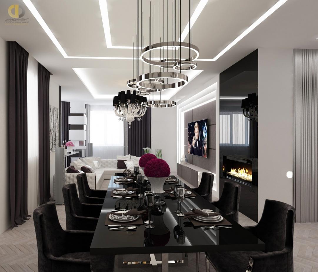 Дизайн гостиной столовой в квартире фото