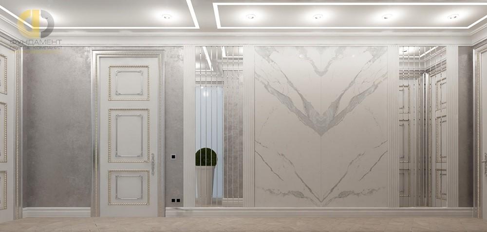 Дизайн интерьера светлого коридора