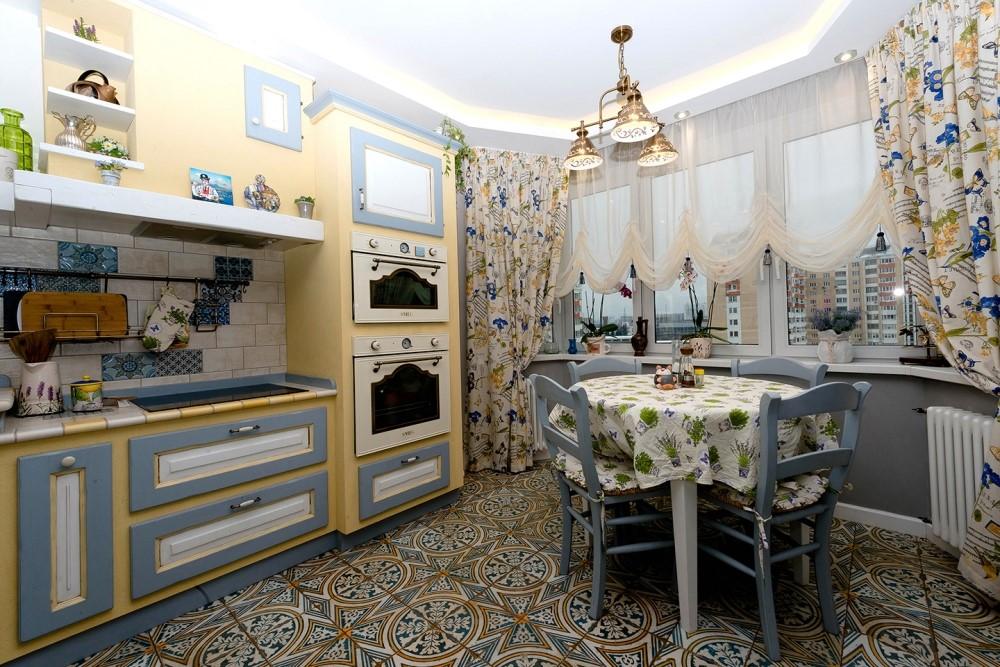 кухня в стиле прованс 34 фото интерьеров