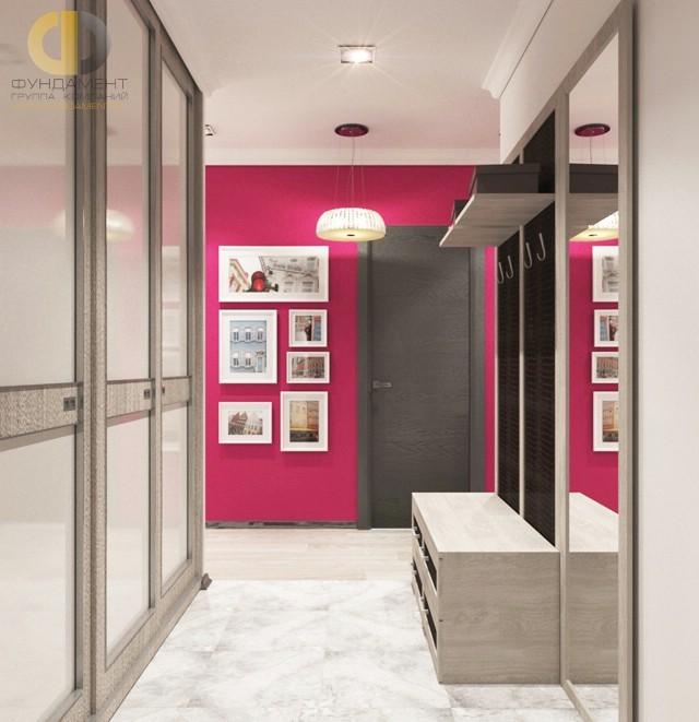 Дизайн мраморного пола в коридоре