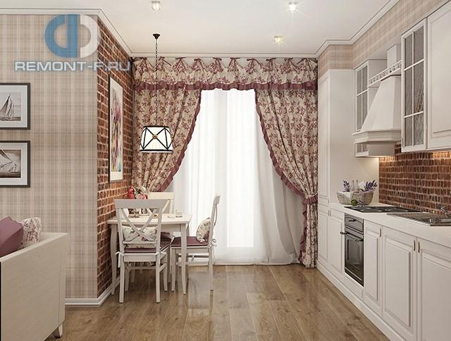 Прованская кухня в дизайне квартиры в Одинцово