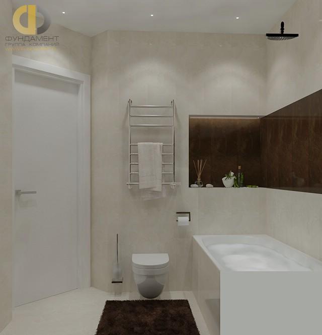 Современные идеи в дизайне ванной комнаты в стиле минимализм. Фото 2016