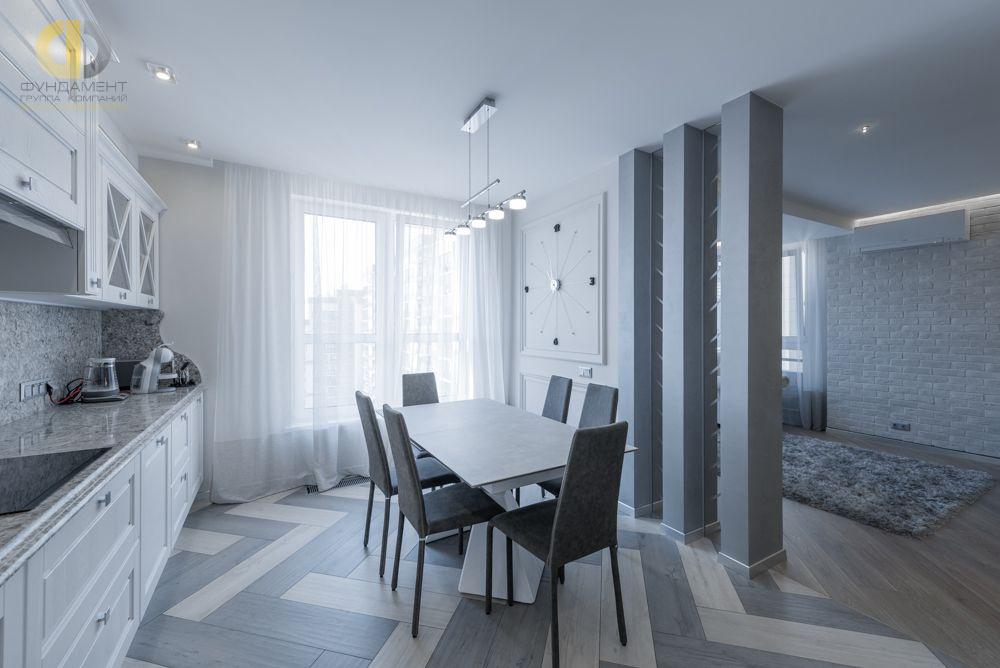 Фото + Видео ремонта в квартире 106 кв.м в стиле минимализм