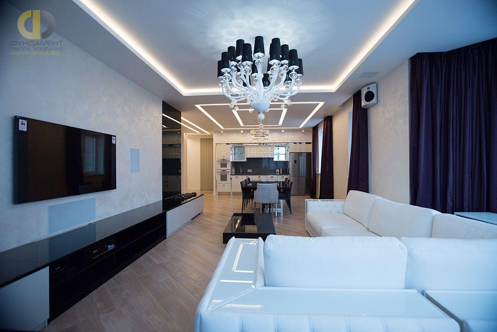Фото + Видео  дизайна интерьера и ремонта квартиры 144 кв.м в стиле ар-деко