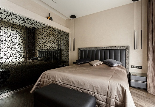Спальня в стиле арт-деко (ар-деко), фото интерьера