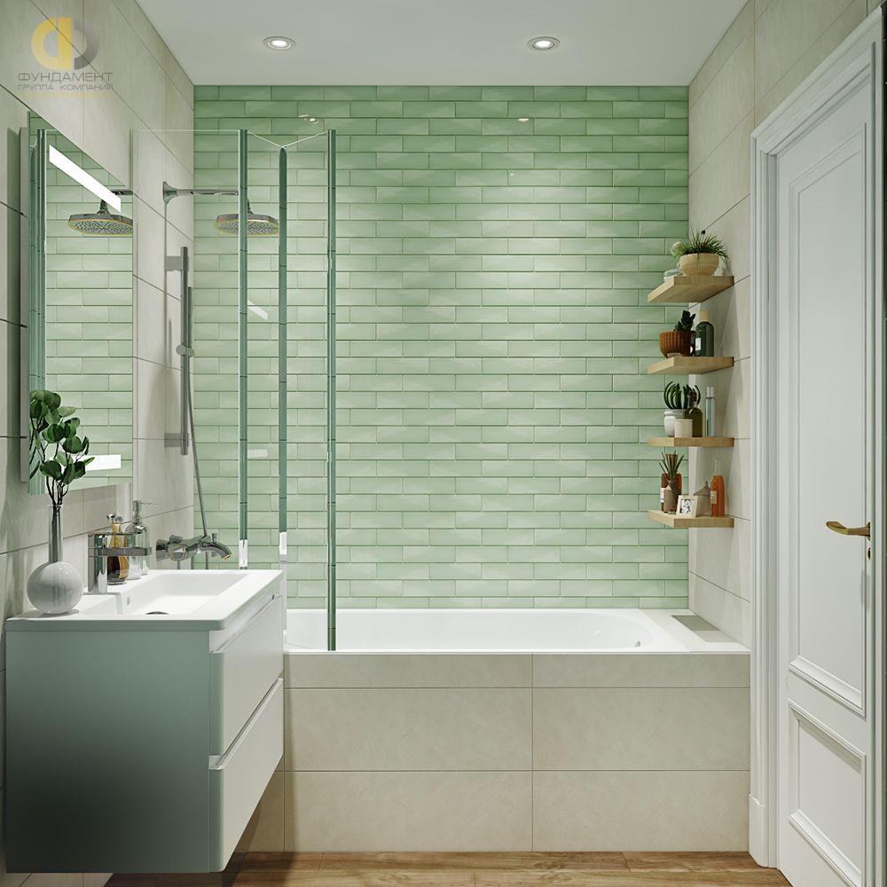 интерьер ванной кабанчик плиткой