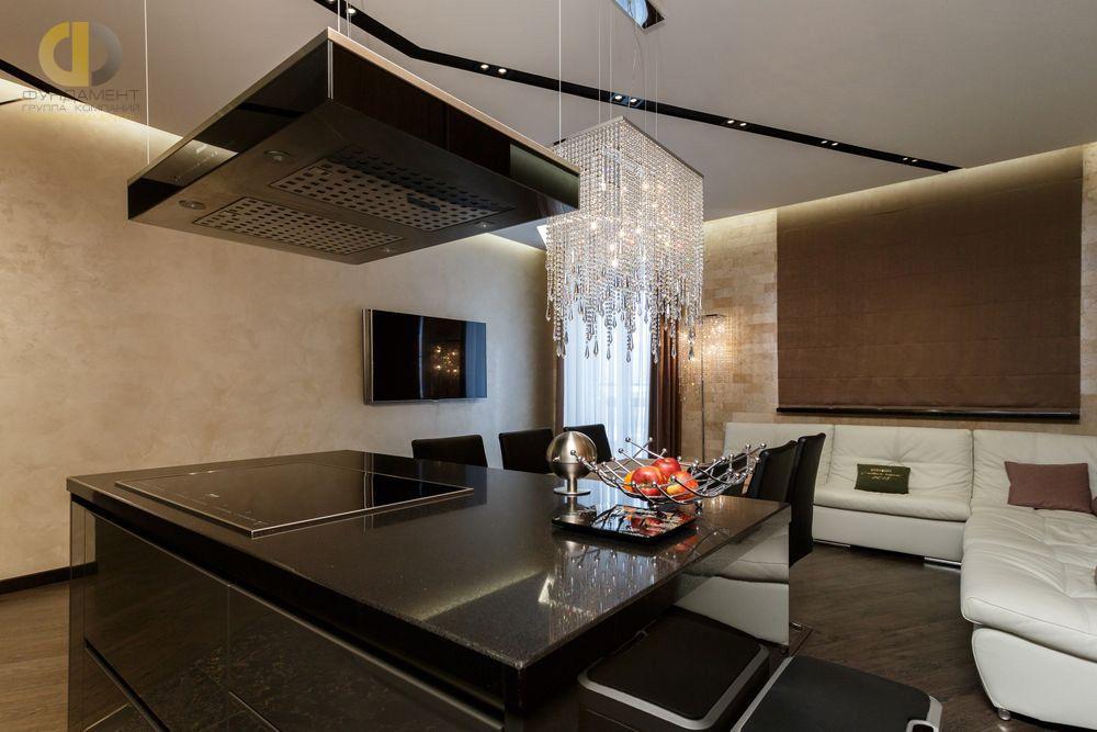 Фото + Видео  ремонта квартиры 101 кв.м в стиле ар-деко